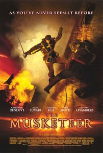 Movie poster for The Musketeer