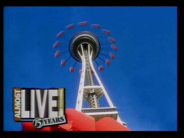 Almost Live Space Needle Ride